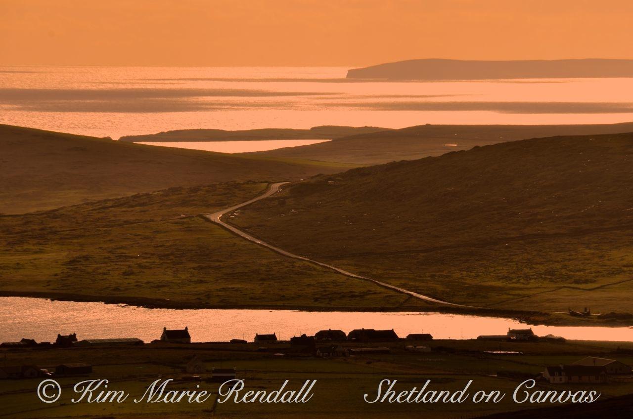 Soft Evening Light over Haroldswick, Unst