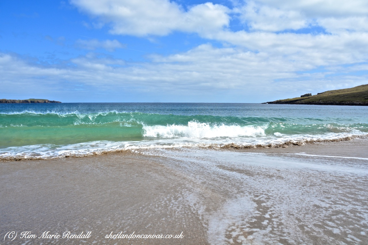 Norwick Beach Waves, Unst
