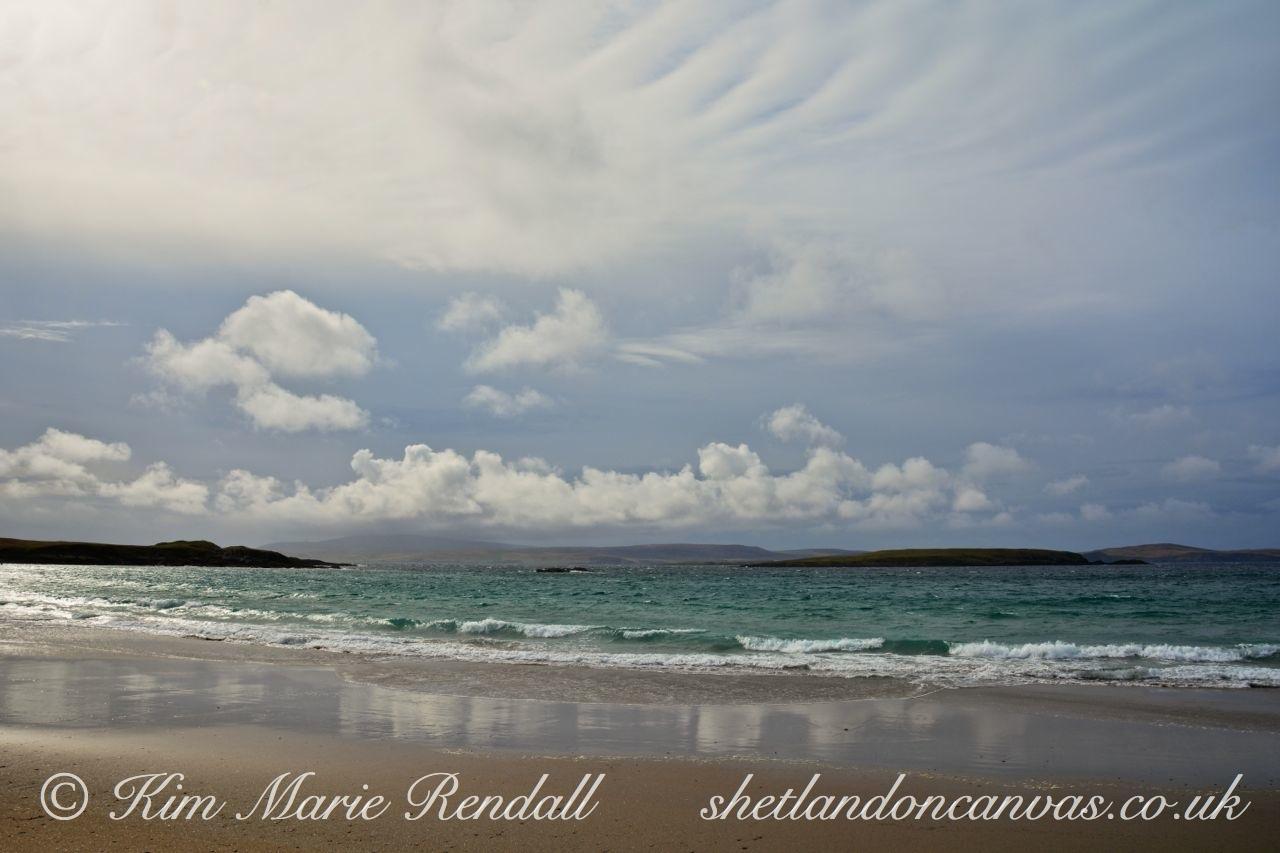 Seascape at West Sandwick Beach, Yell