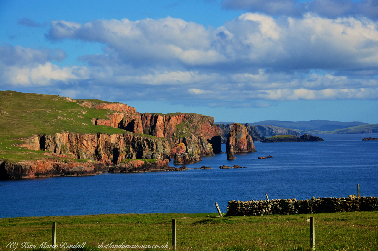 Red Cliffs o' Da Neap, Eshaness (2)