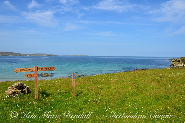 Coastal Walk, Unst