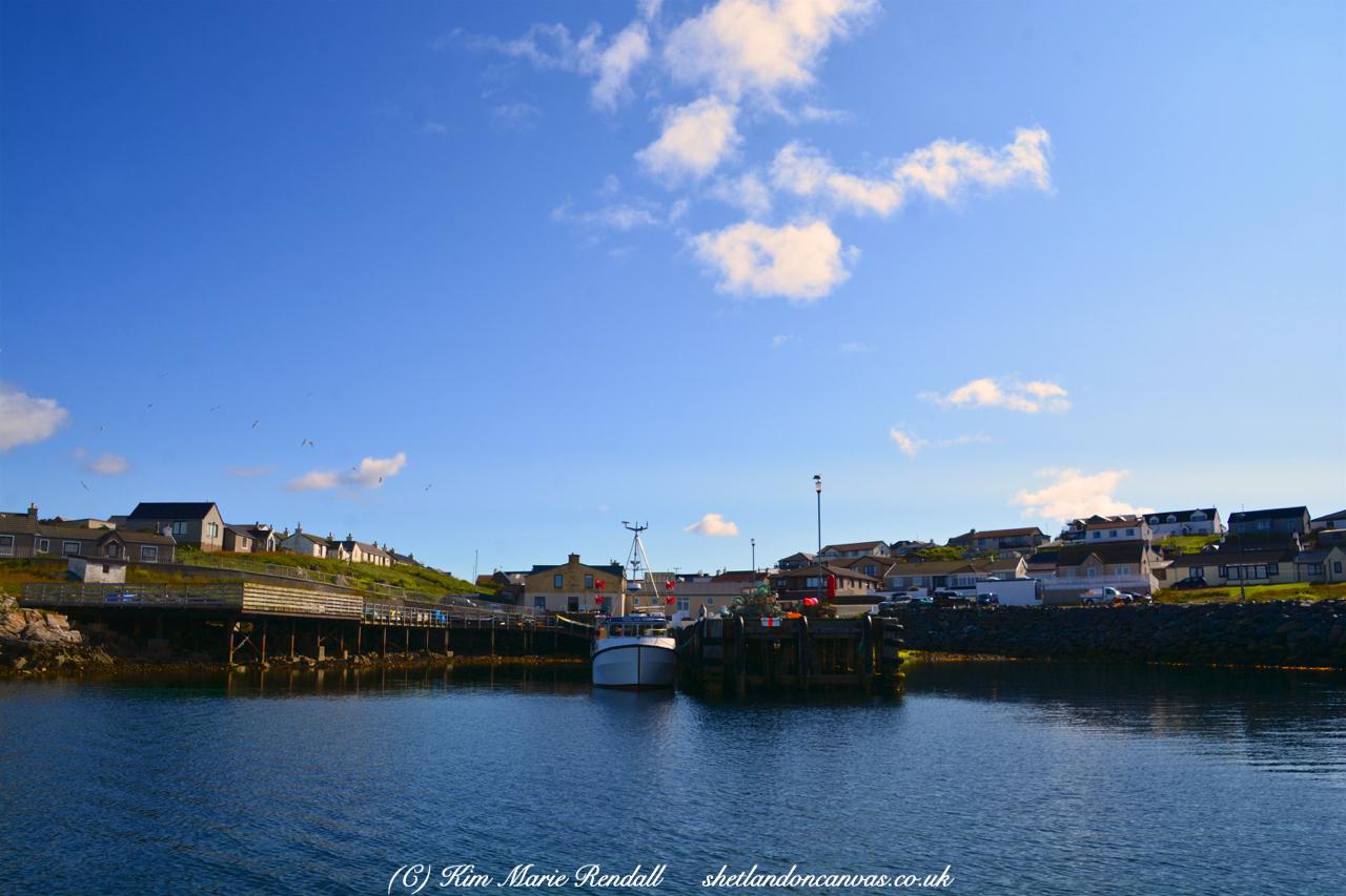 Boats at Hamnavoe Marina, Burra Isle (4)