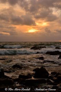 Soft Morning Light at Kirkabister Beach (1)