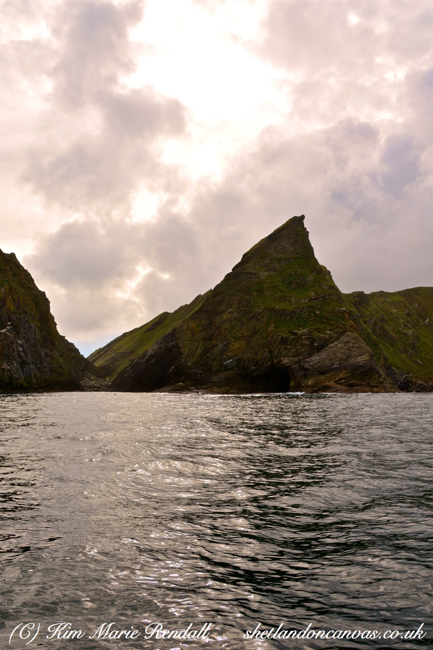 Beautiful Cliff Formations, Burrafirth, Unst