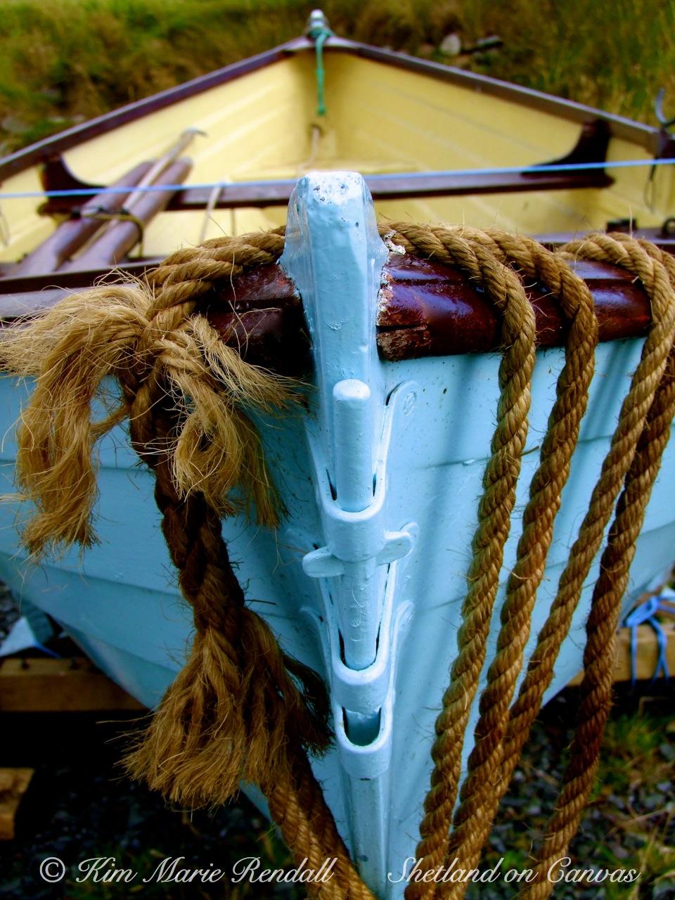 Boat at Billister Pier, North Nesting (3)