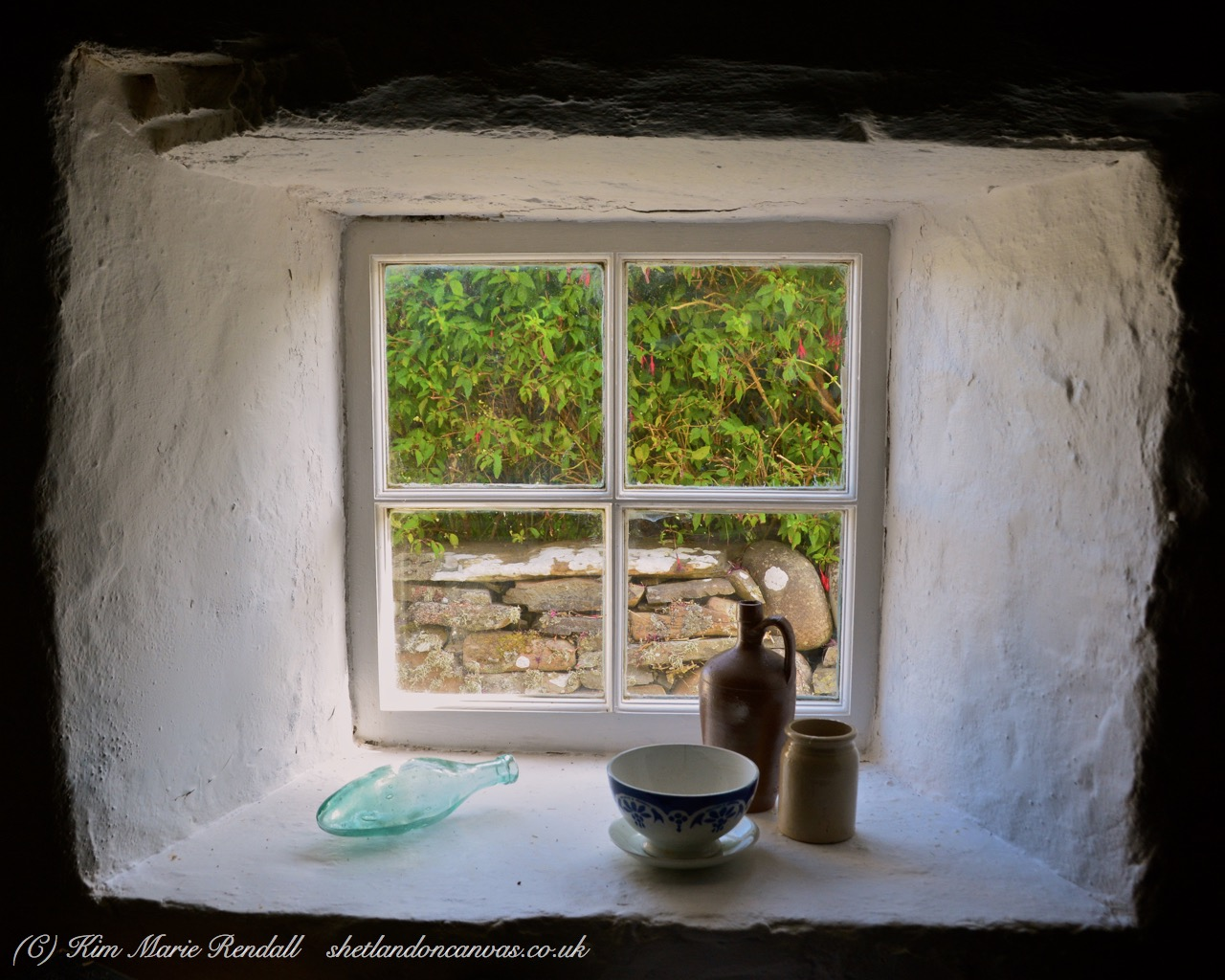 Croft House Window (2), Dunrossness
