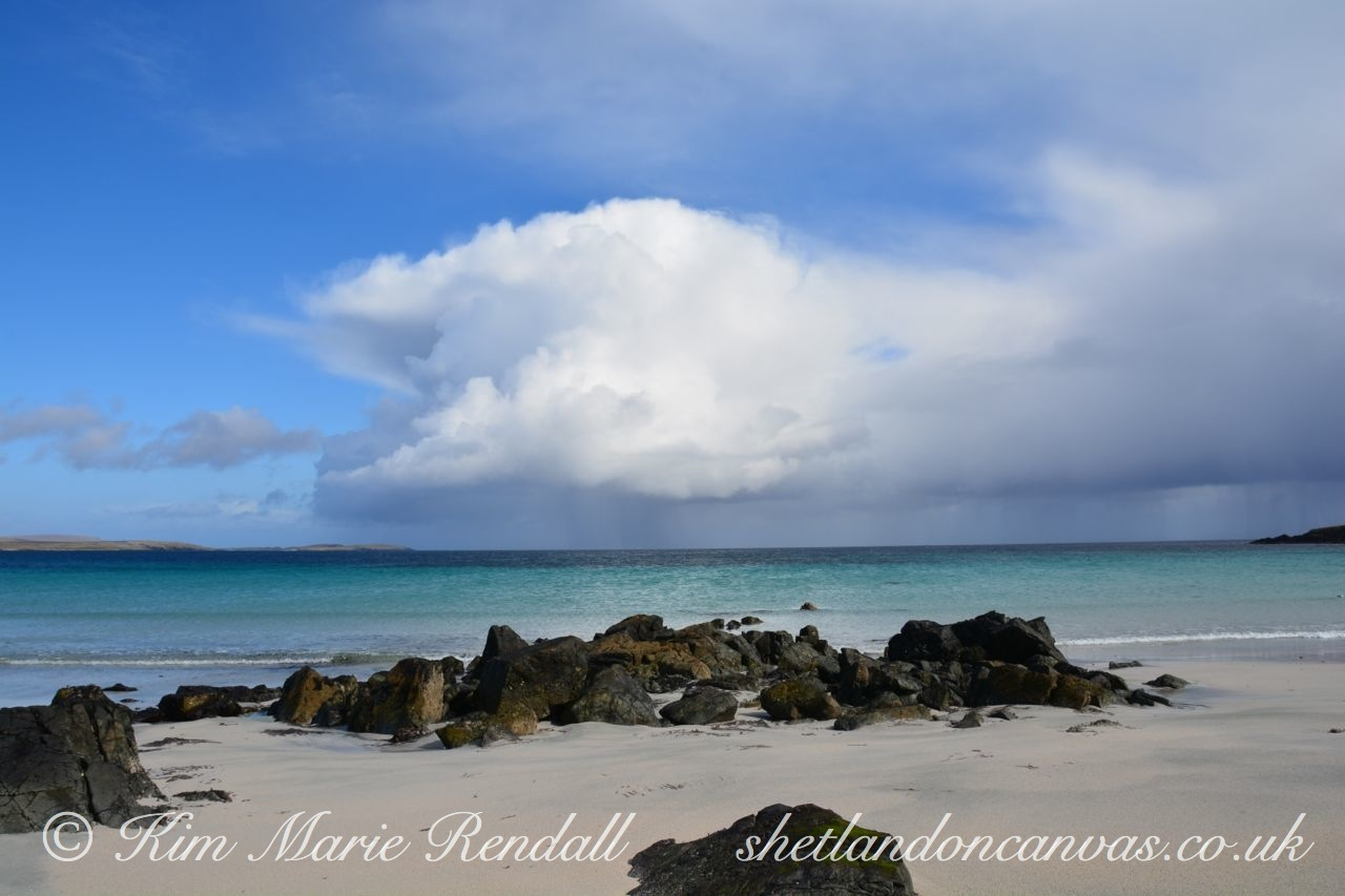 Dramatic Cloud at Easting, Unst (2)