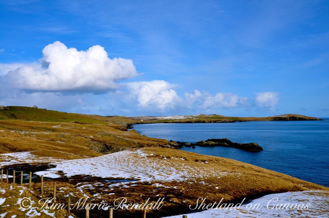 Winter Scene at Brettabister, North Nesting