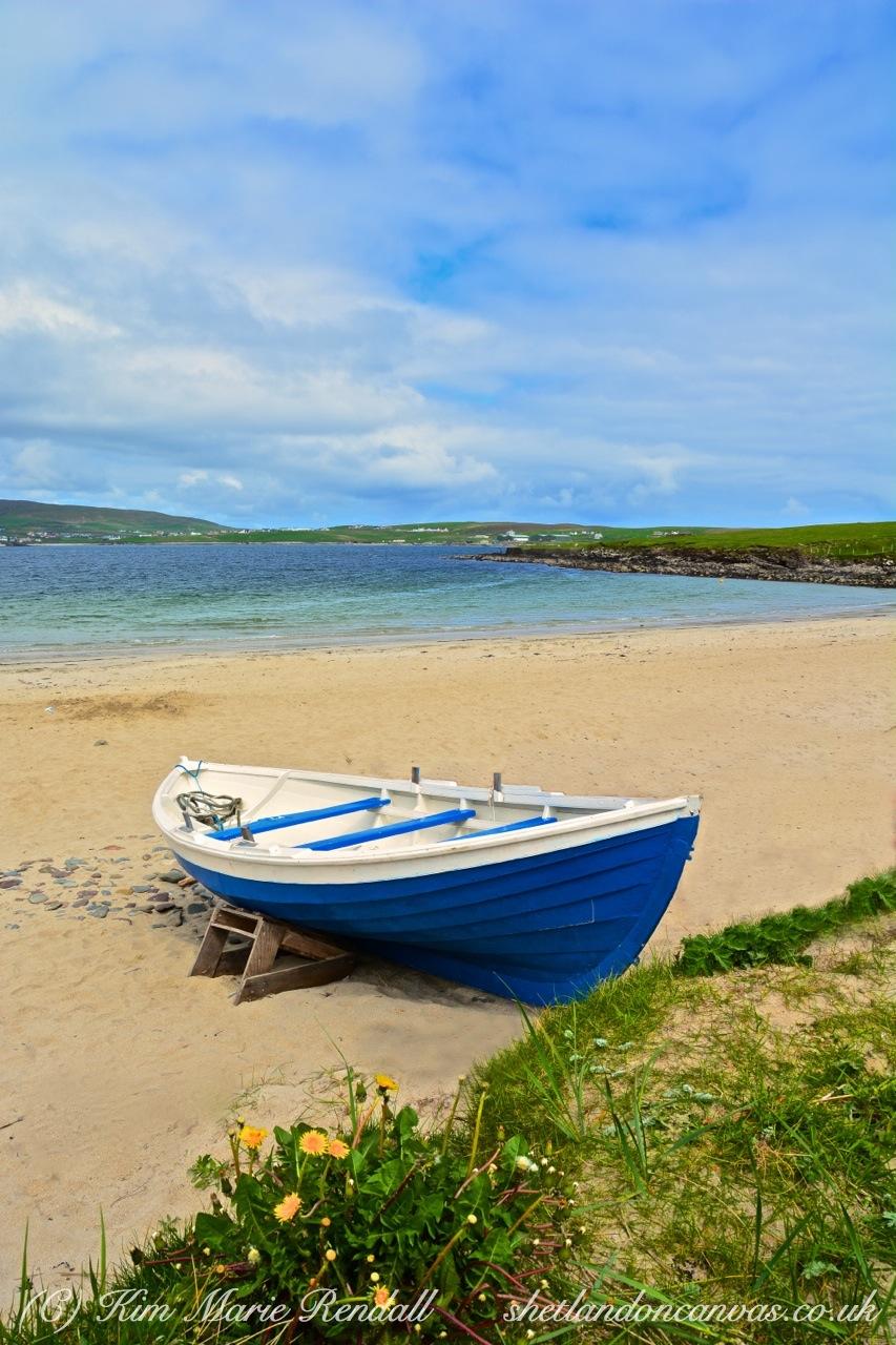 Shetland Summer Colours at Levenwick Beach