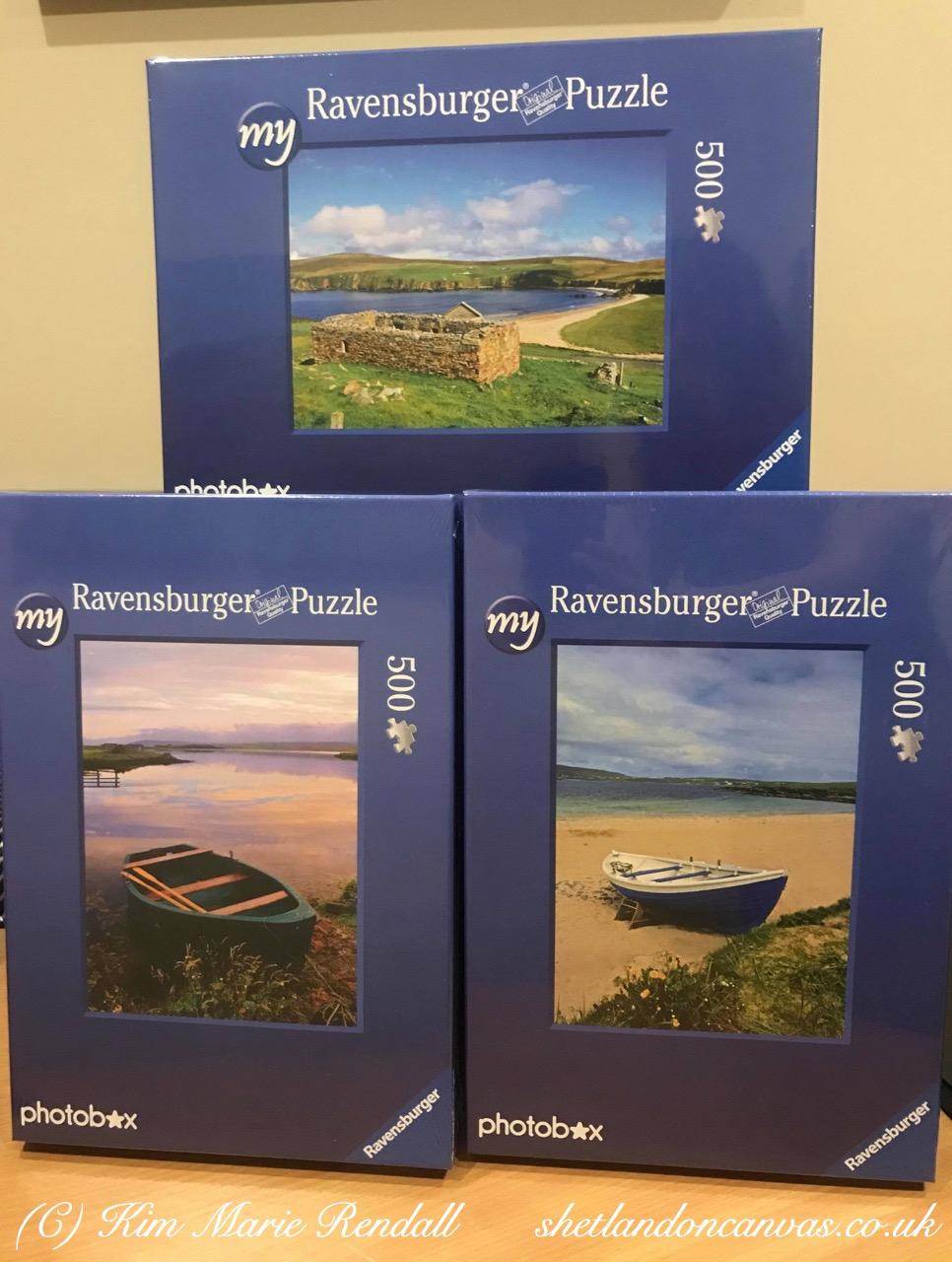 Shetland on Canvas Jigsaw