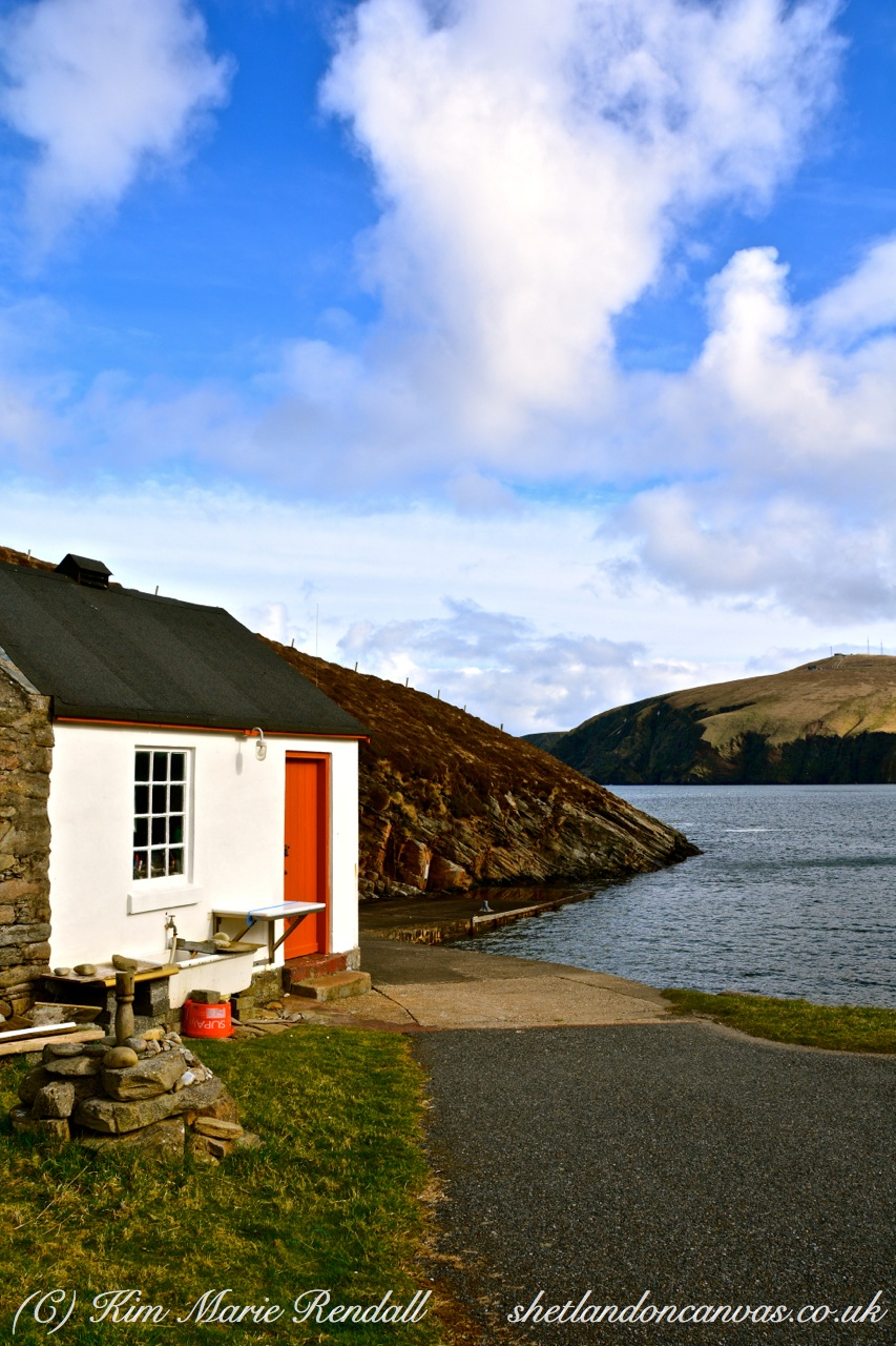 Da Smokehoose, Burrafirth Shore Station