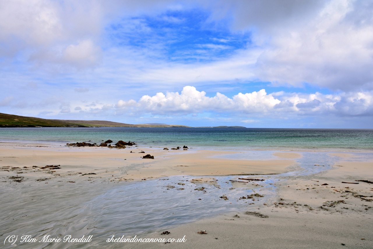 Voar Day at Easting Beach, Unst