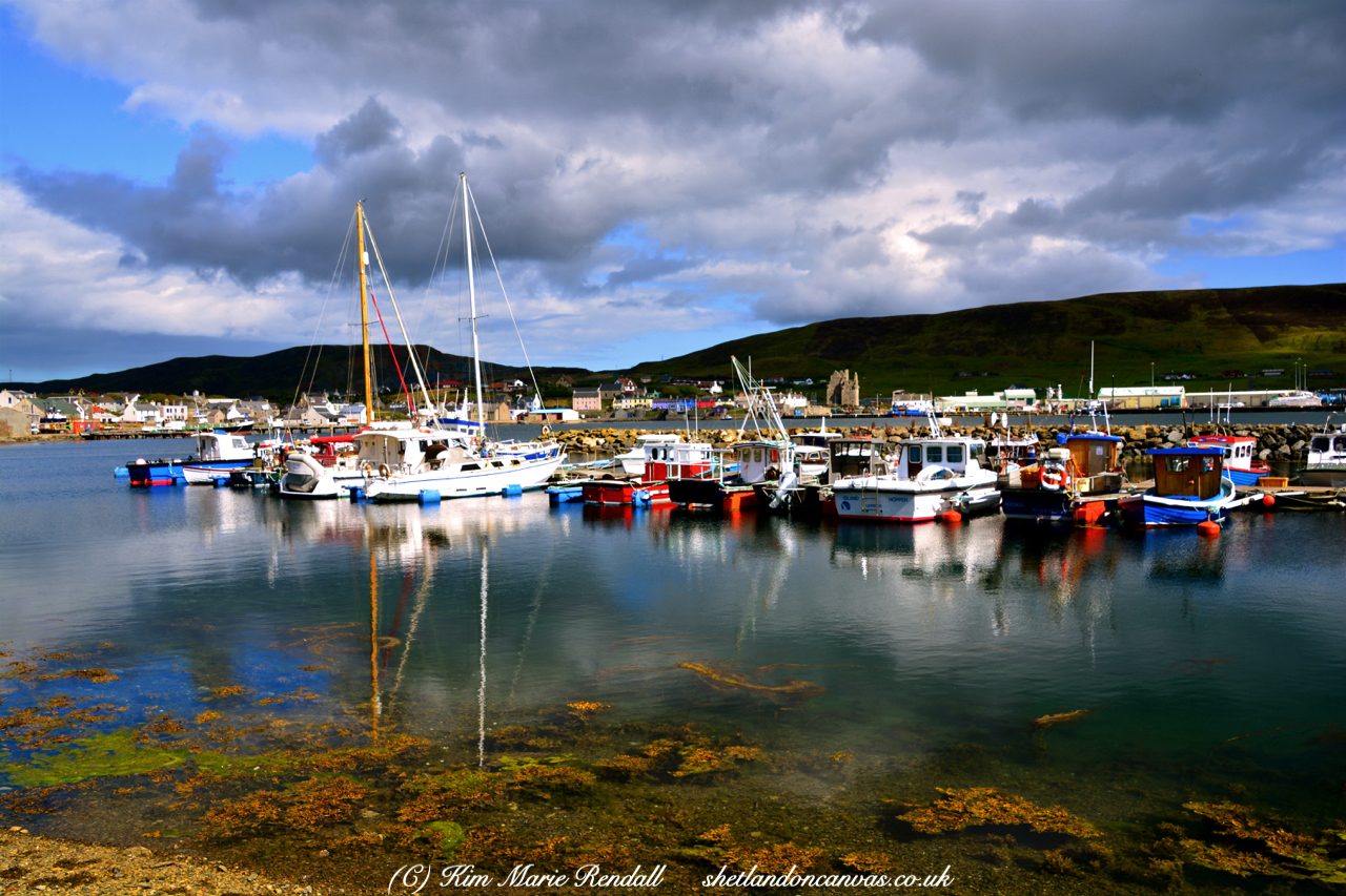 Boats at Port Arthur, Scalloway