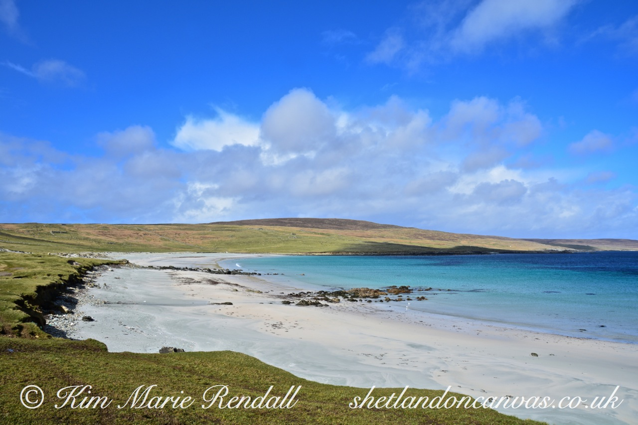 Beautiful Day at Easting, Unst