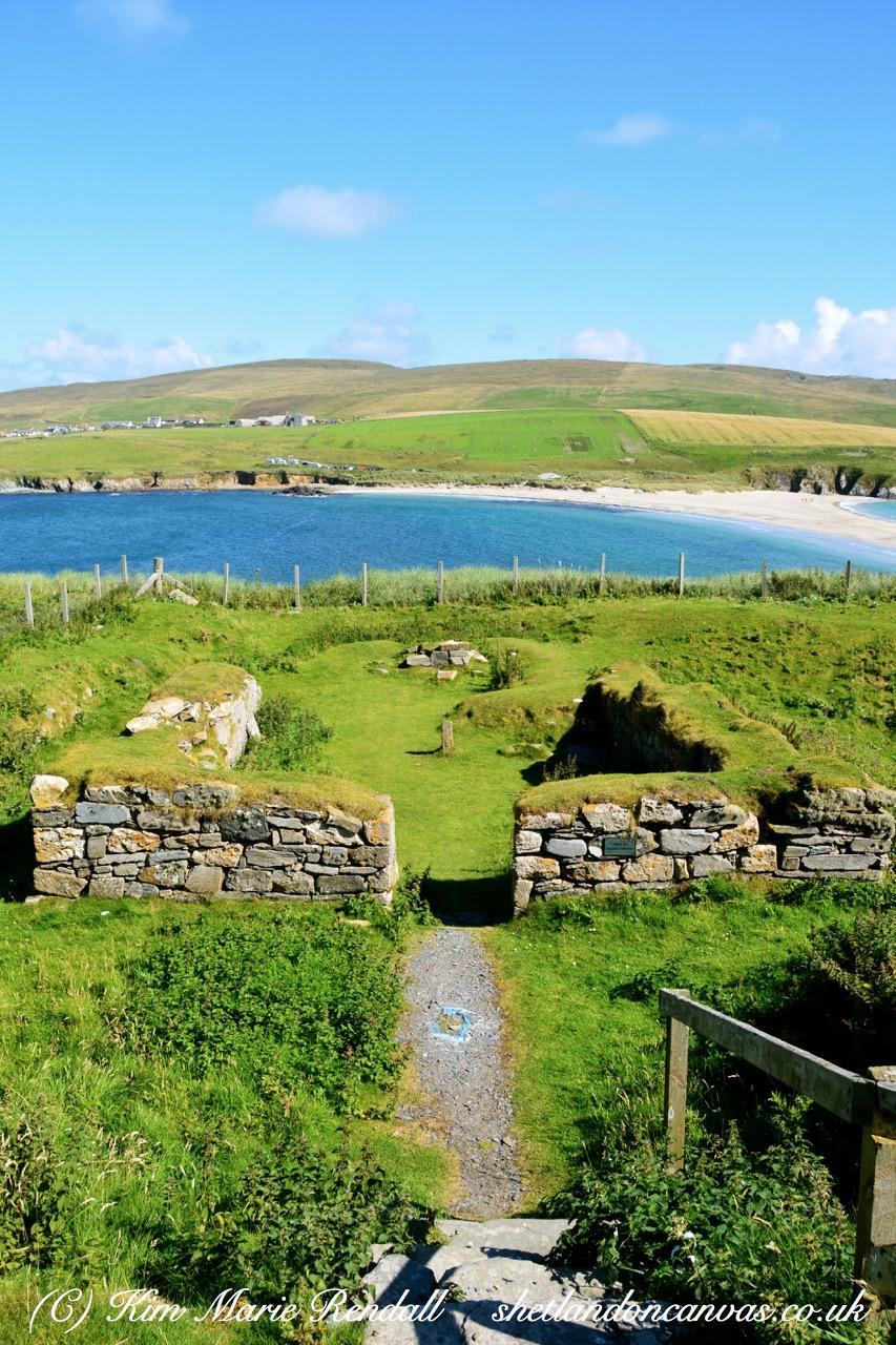 St. Ninian's Isle chapel portrait view
