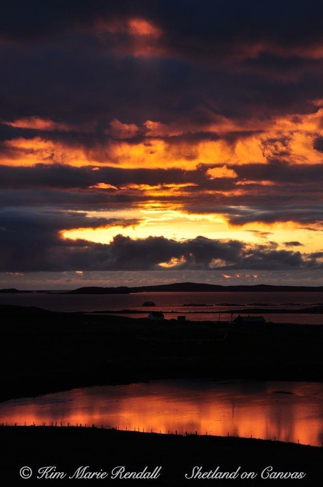 Fiery Sunrise over Billister (1)