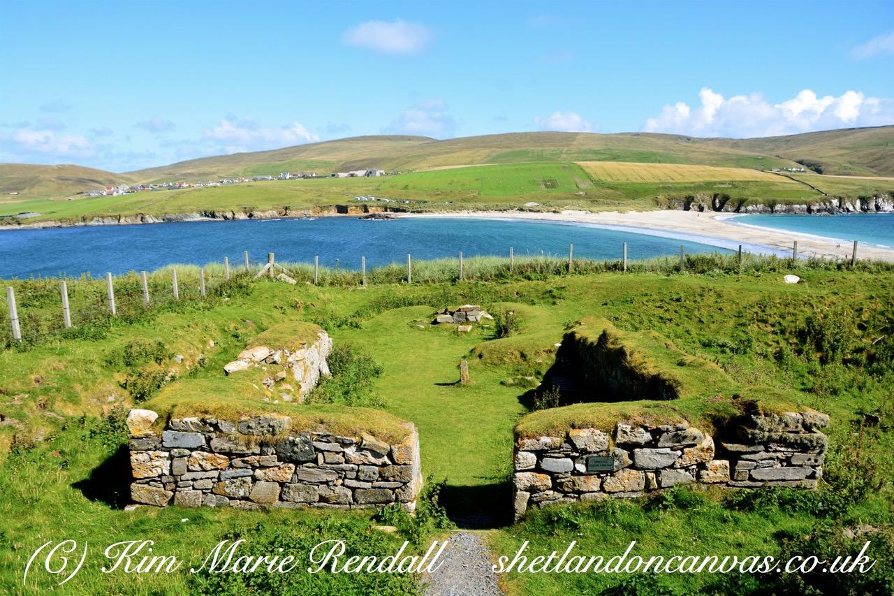 St. Ninian's Isle Chapel Landscape View