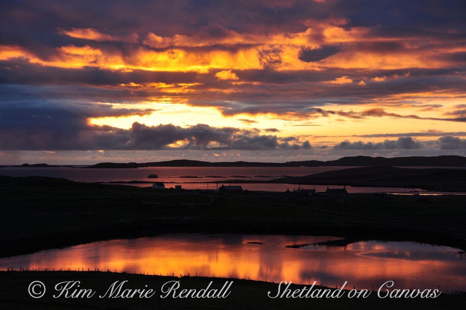 Fiery Sunrise over Billister (2)
