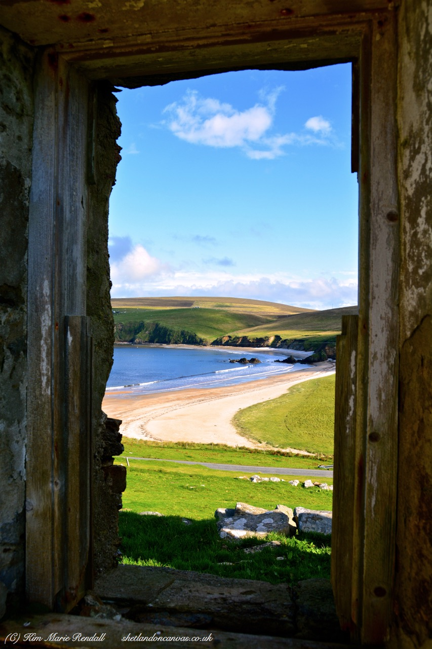 Croft Hoose View at Burrafirth, Unst (2)