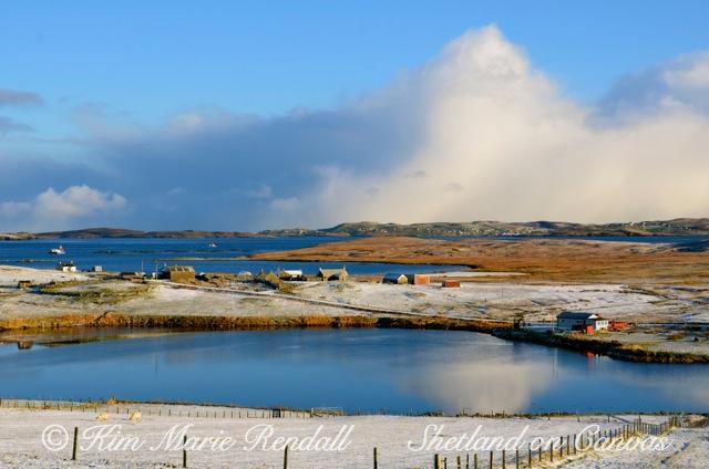 Winter Scene at Billister, North Nesting