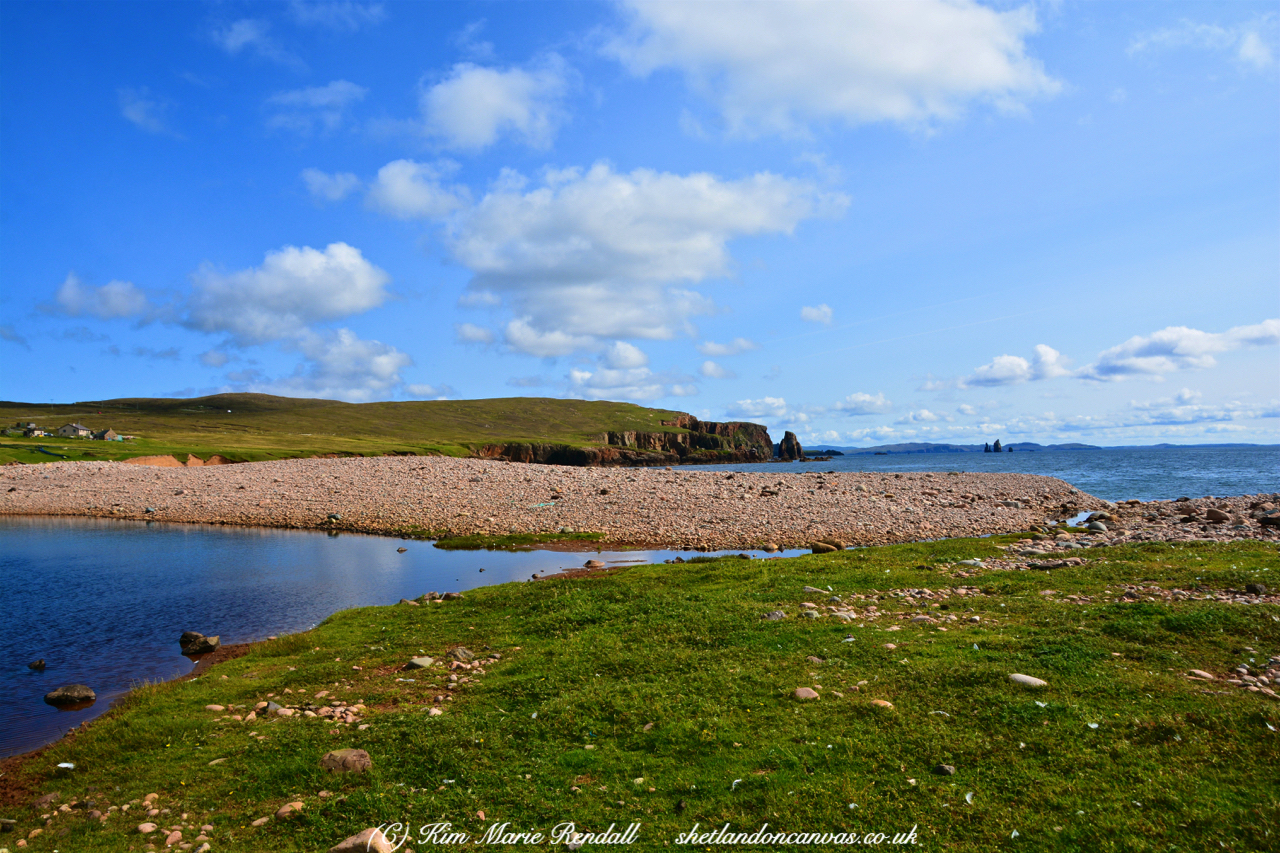 Summer's Day at Braewick Beach, Eshaness (4)