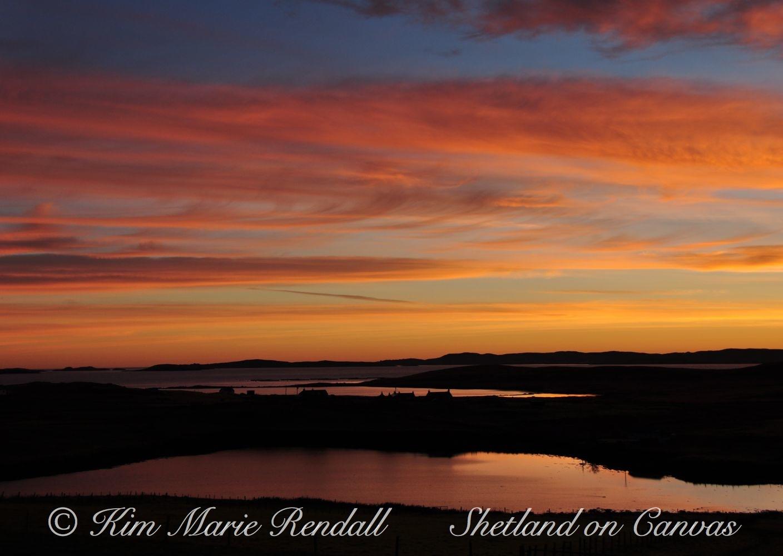 September Sunrise over Billister, North Nesting (2)