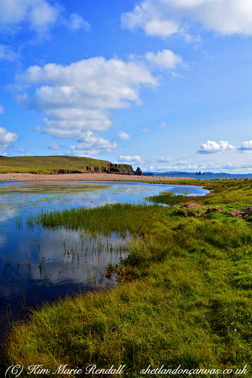 Summer's Day at Braewick Beach, Eshaness (2)