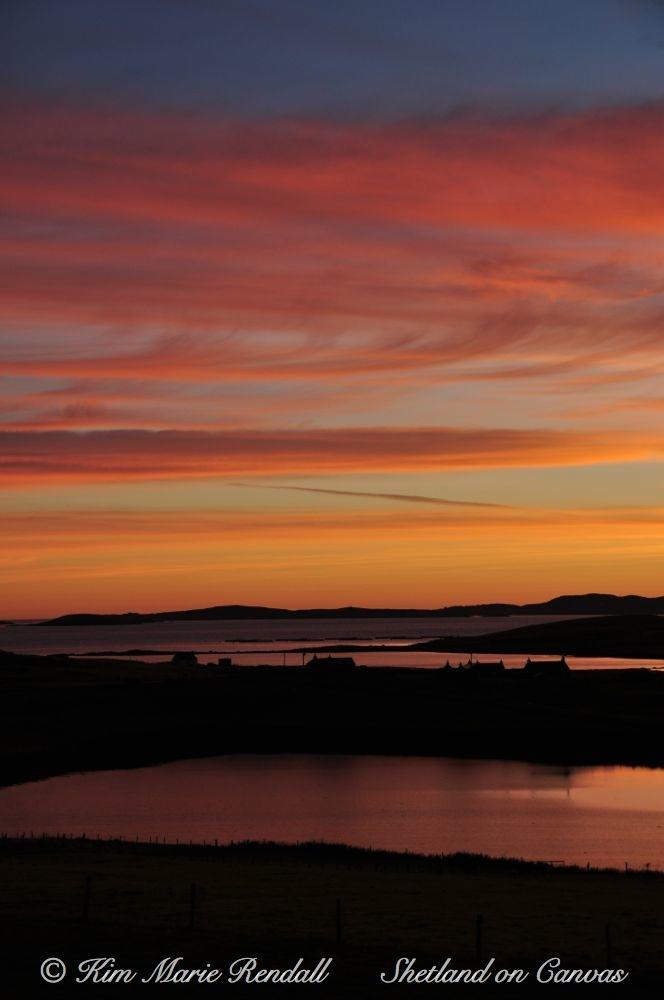 September Sunrise over Billister, North Nesting (1)