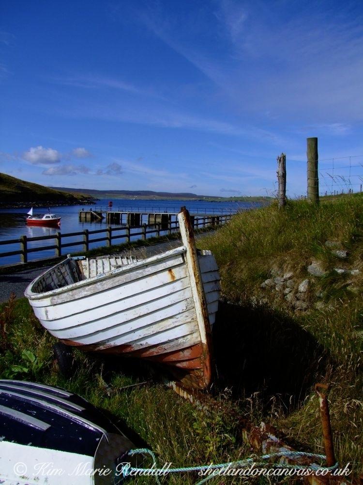 Boat at Billister Pier, North Nesting (2)