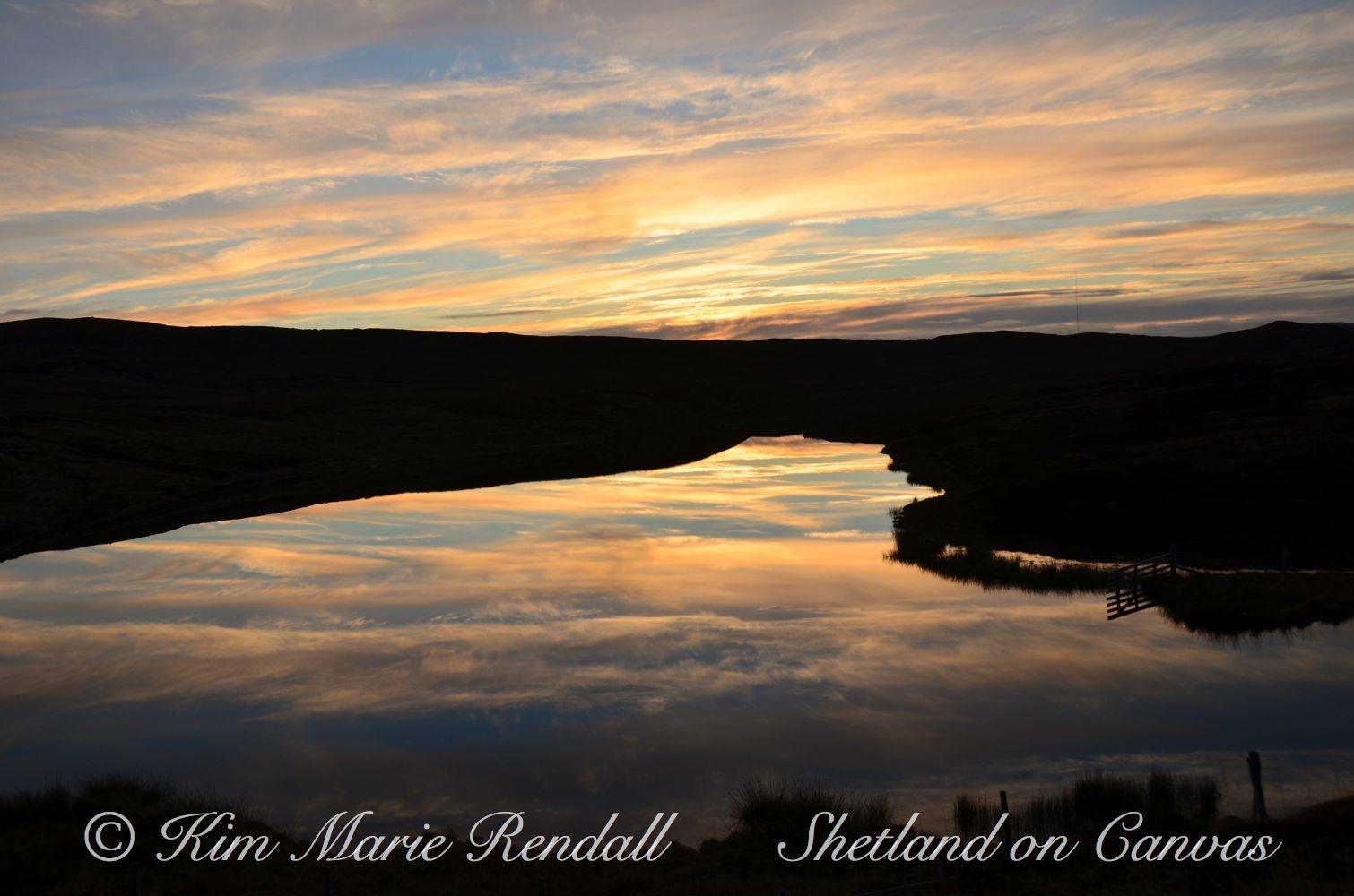 Bellister Loch Reflections