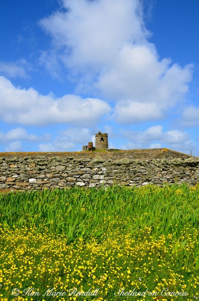 The Tower at Brough Lodge, Fetlar