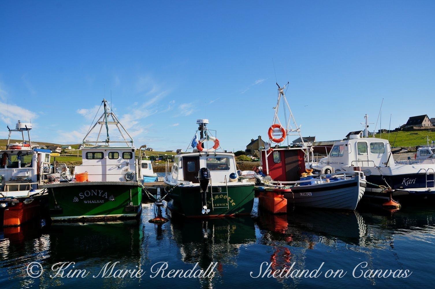 Symbister Marina, Whalsay (1)
