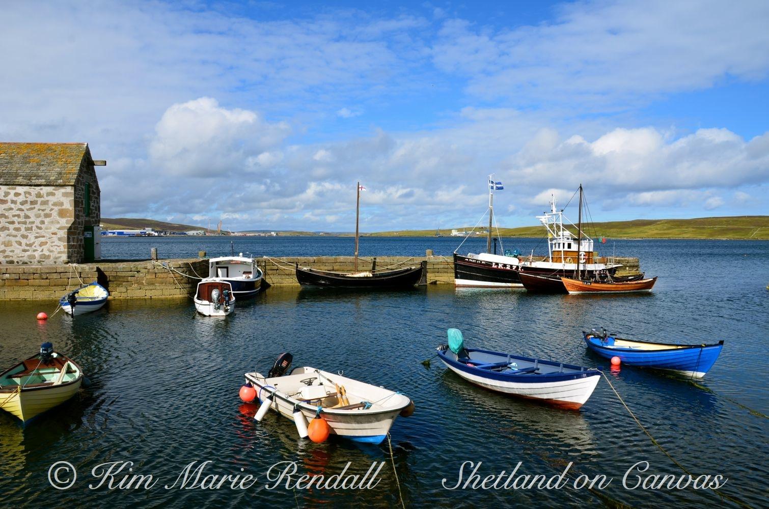 Hays Dock, Lerwick (Landscape)