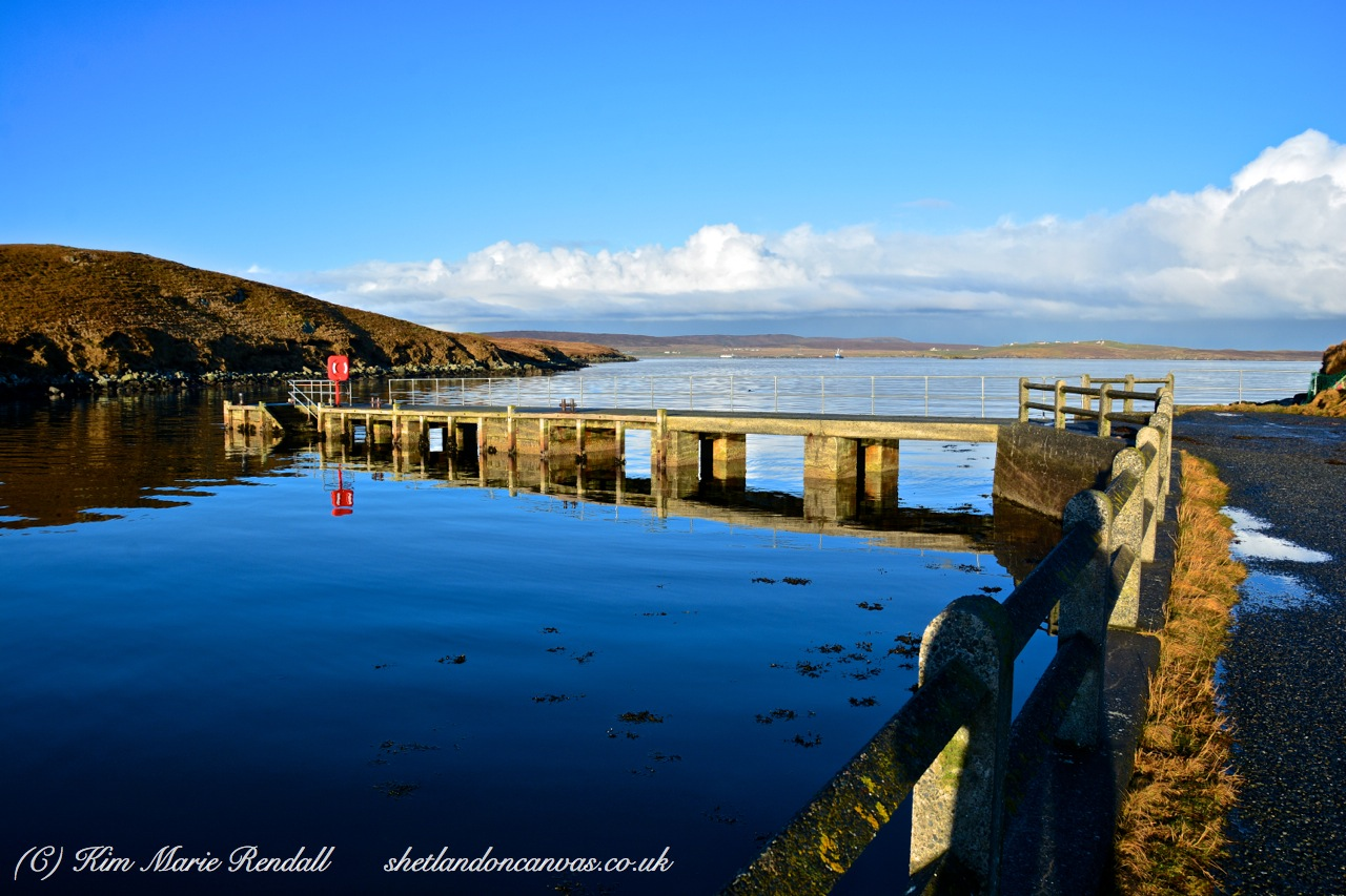 Beautiful Winter's day at Billister Pier (2)