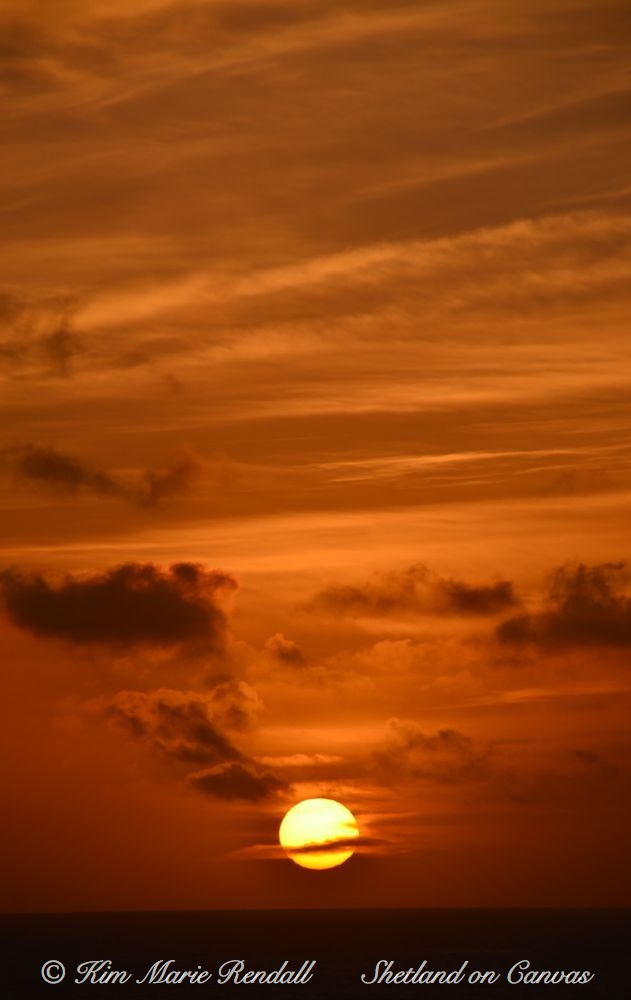 Sunrise over South Nesting Bay
