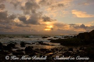 Soft Morning Light at Kirkabister Beach (2)