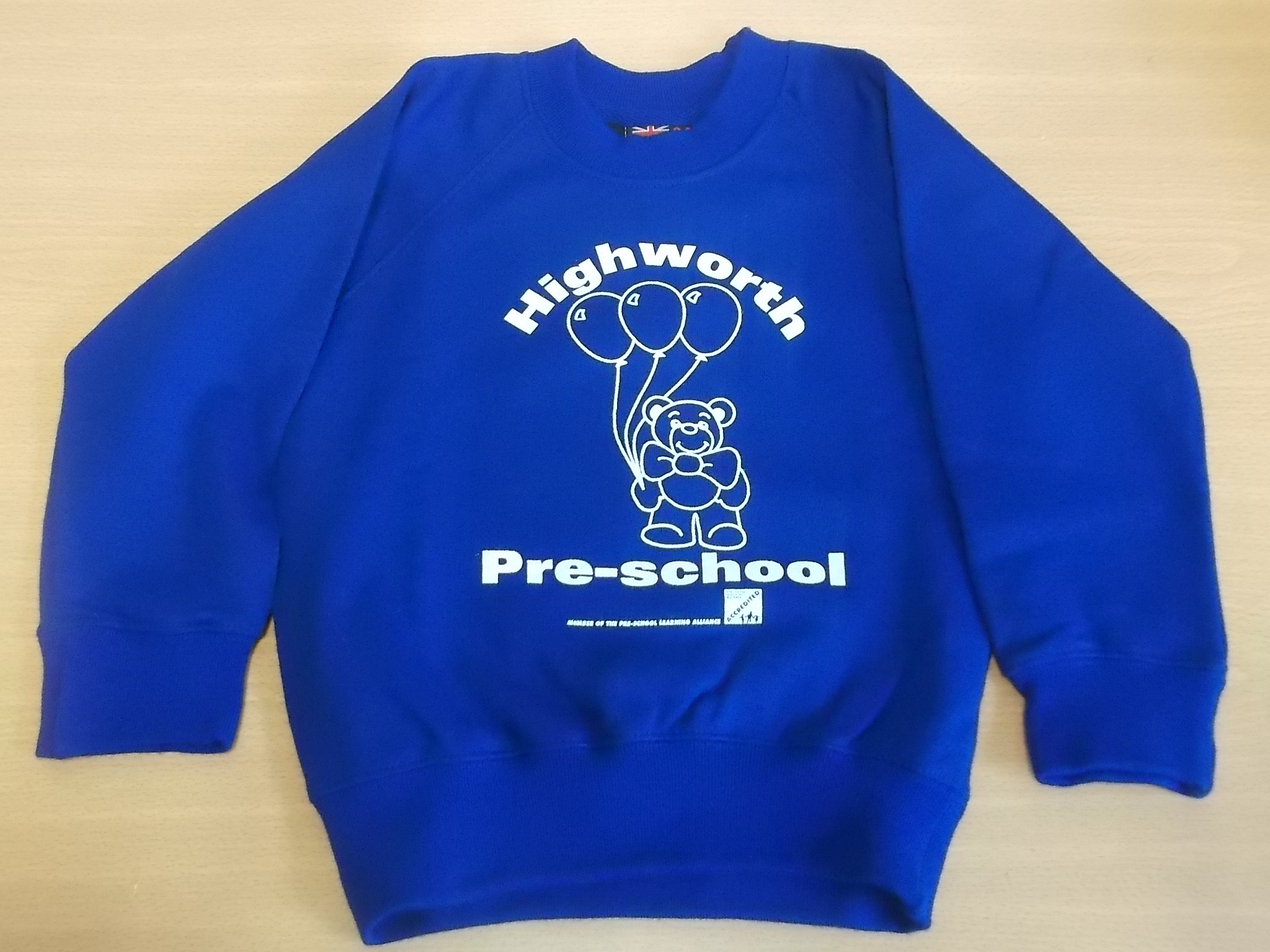 Blue Highworth Pre-School Jumper