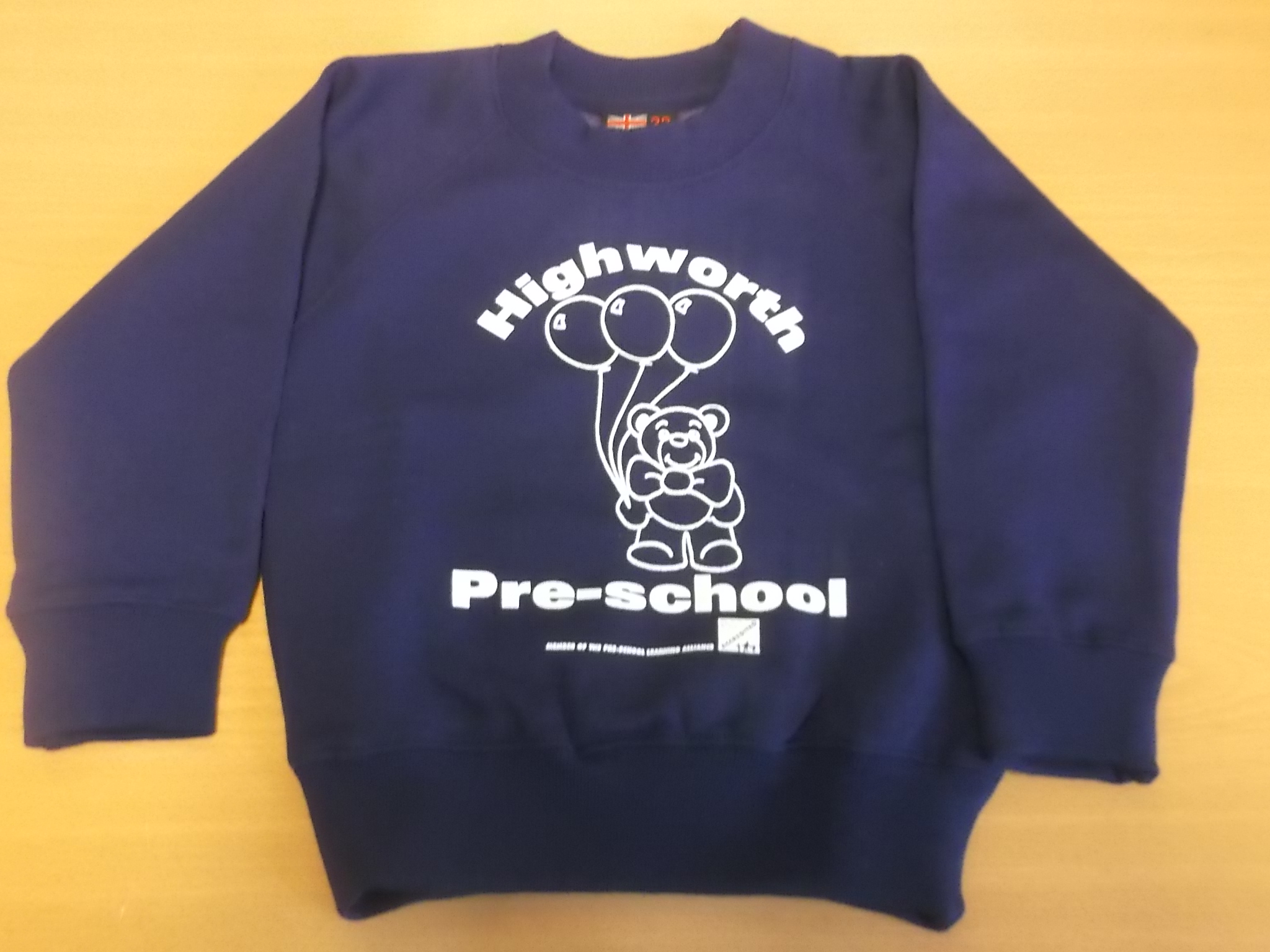 Purple Highworth Pre-School Jumper