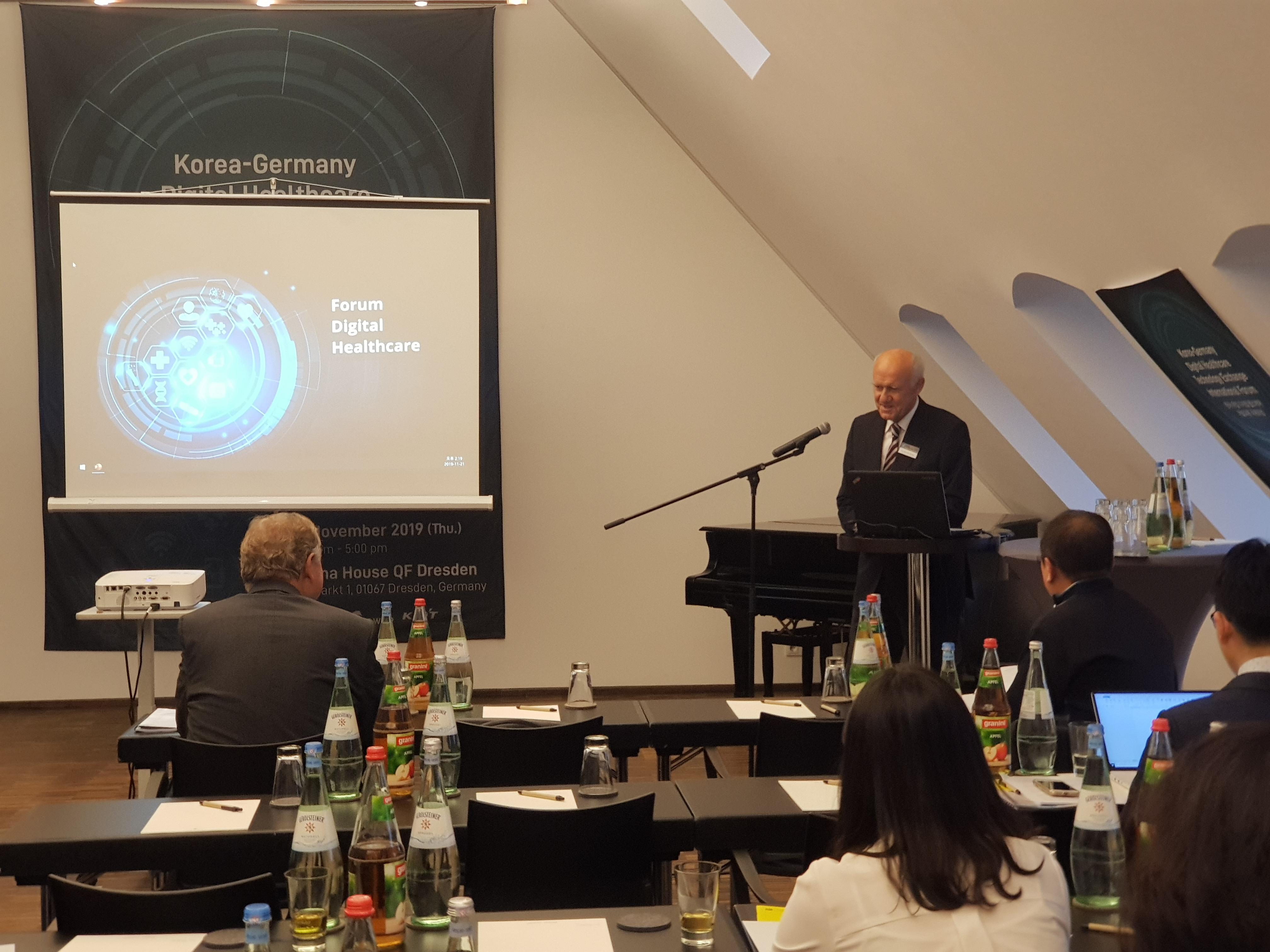 Prof. Richard Funk, President of the DIU