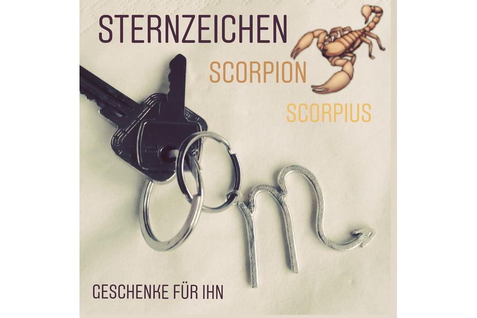 Scorpion Sternzeichen Geschenk