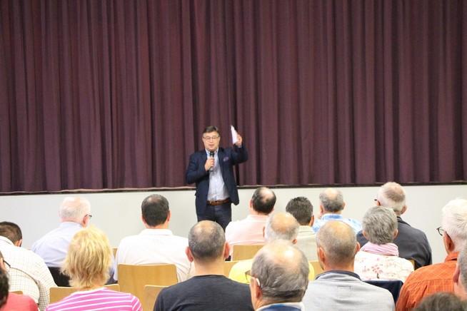 Dialogue citoyen à Fessenheim