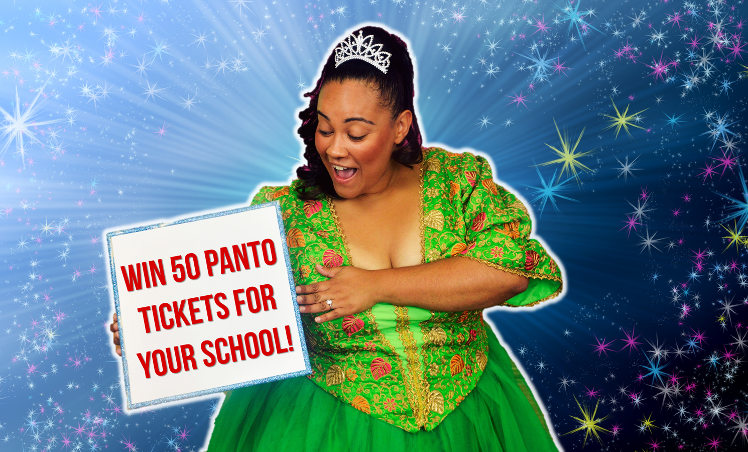 Win 50 FREE panto tickets for your school