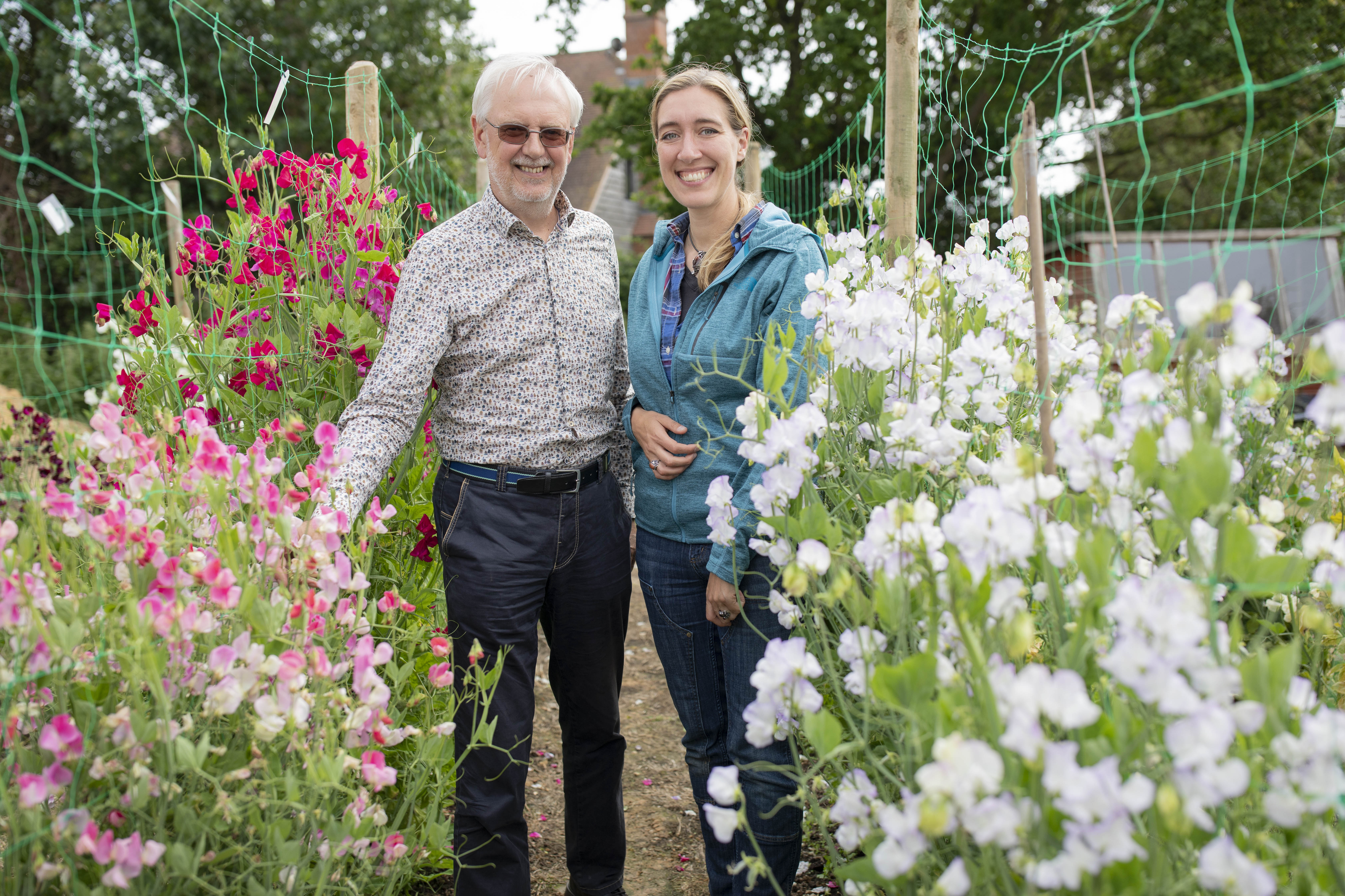 Erin visited Roger Parsons Sweet Peas in 2019