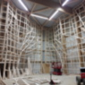 Unterkontruktion der Kletterhalle Kletterbar Kiel