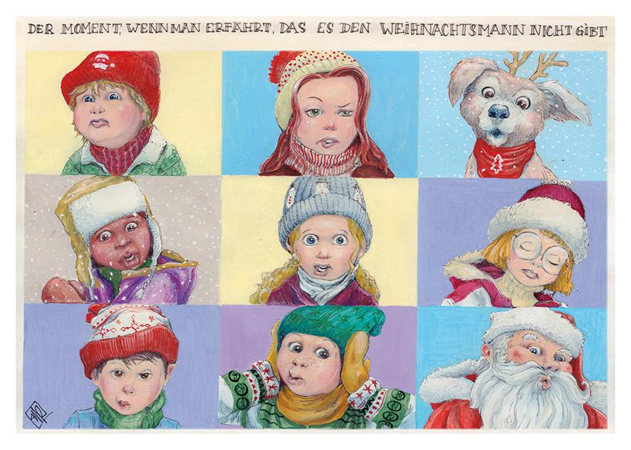 Weihnachtskartenmotiv 2018