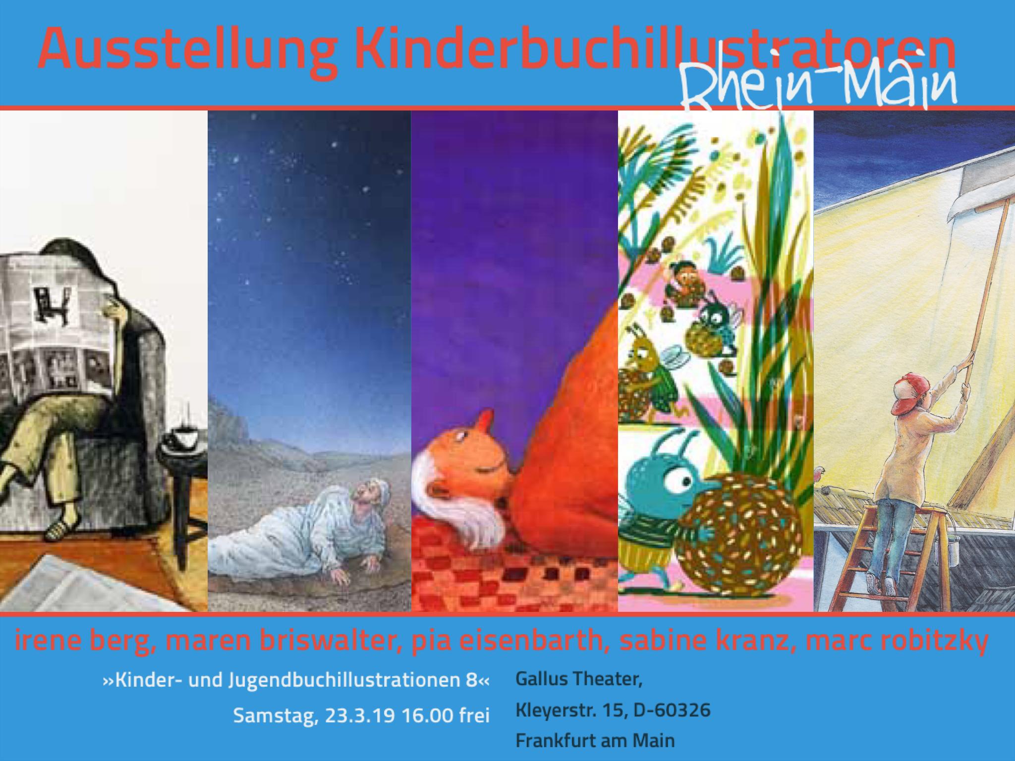 Kinderbuchillsutratoren Rhein- Main