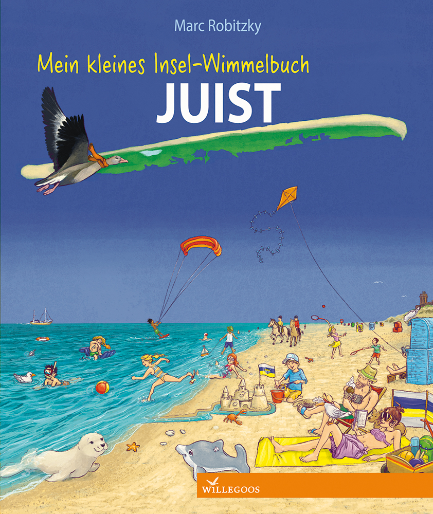 Juist-Wimmelbuch Cover (Marc Robitzky)