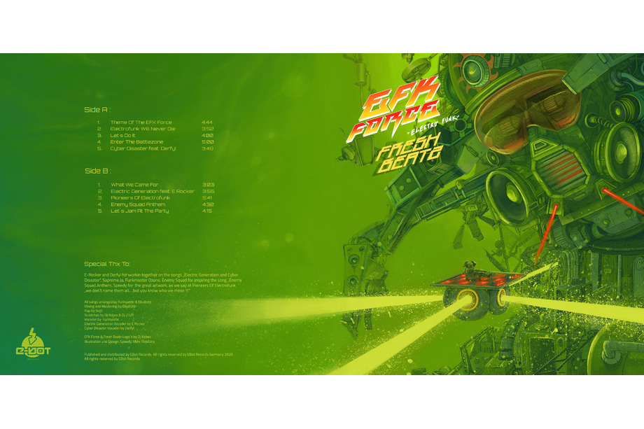 EFK Force Plattencover komplett