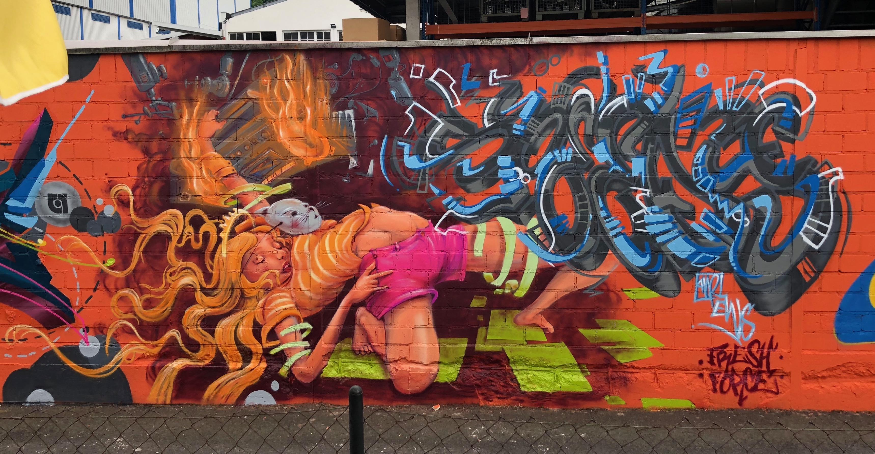 Speedy-Graffiti, Schichtweise 2.0