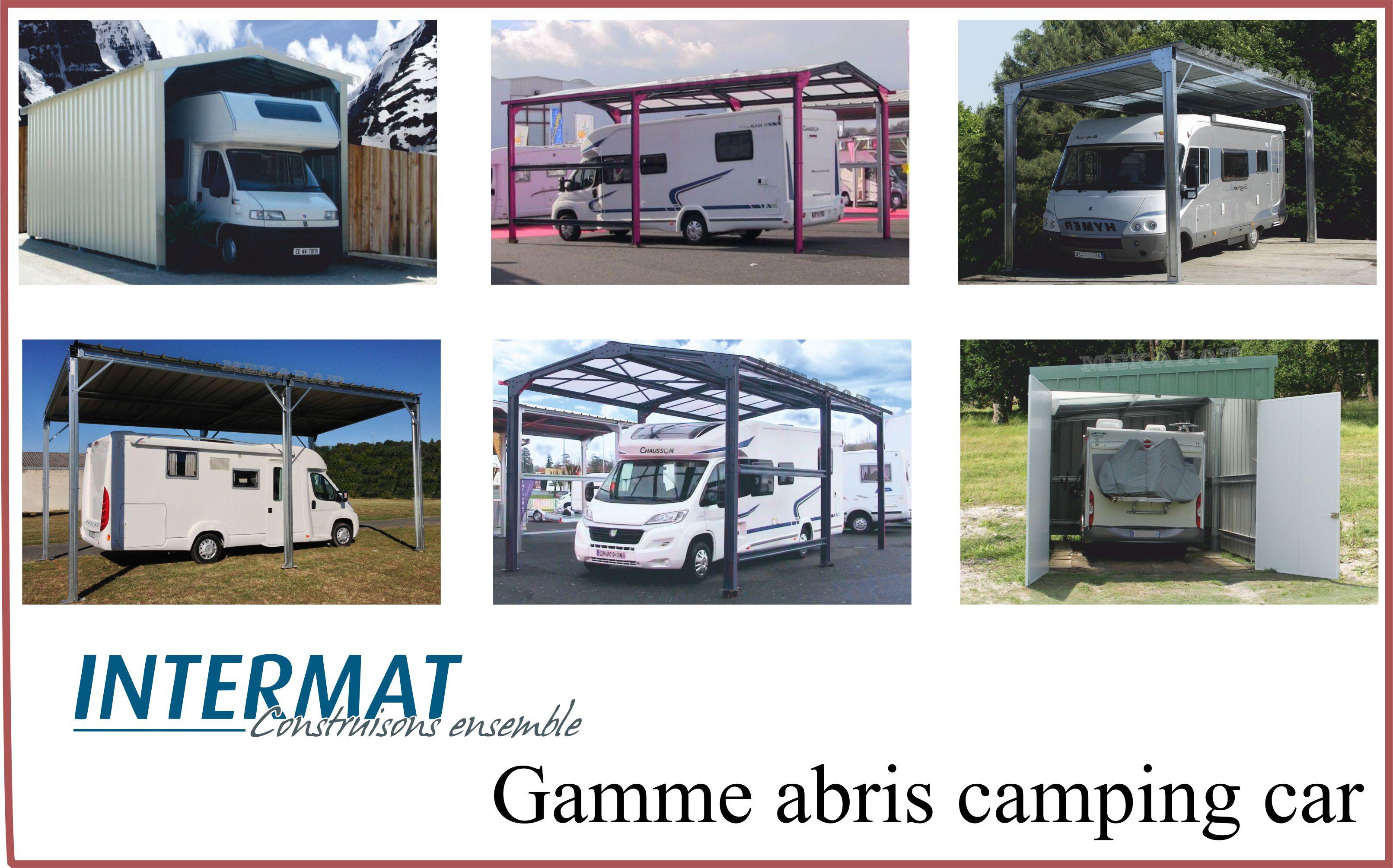 abri camping car métallique